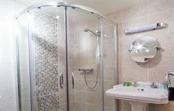 Brand new family shower room