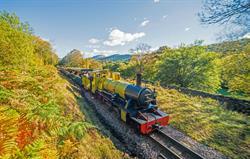 Eskdale narrow gauge steam railway