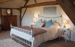 Master Bedroom at Cwm Pelved