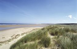 The beach at Holkham