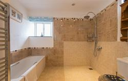 Ensuite with rainfall shower