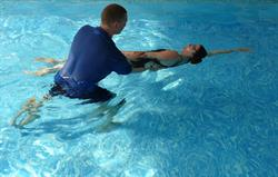 One-to-one swimming lessons