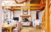 The Linhay's beautiful big Lounge