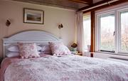 The Master bedroom in The Linhay
