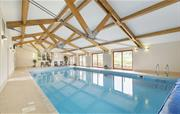 12.5m heated pool, sauna and steam