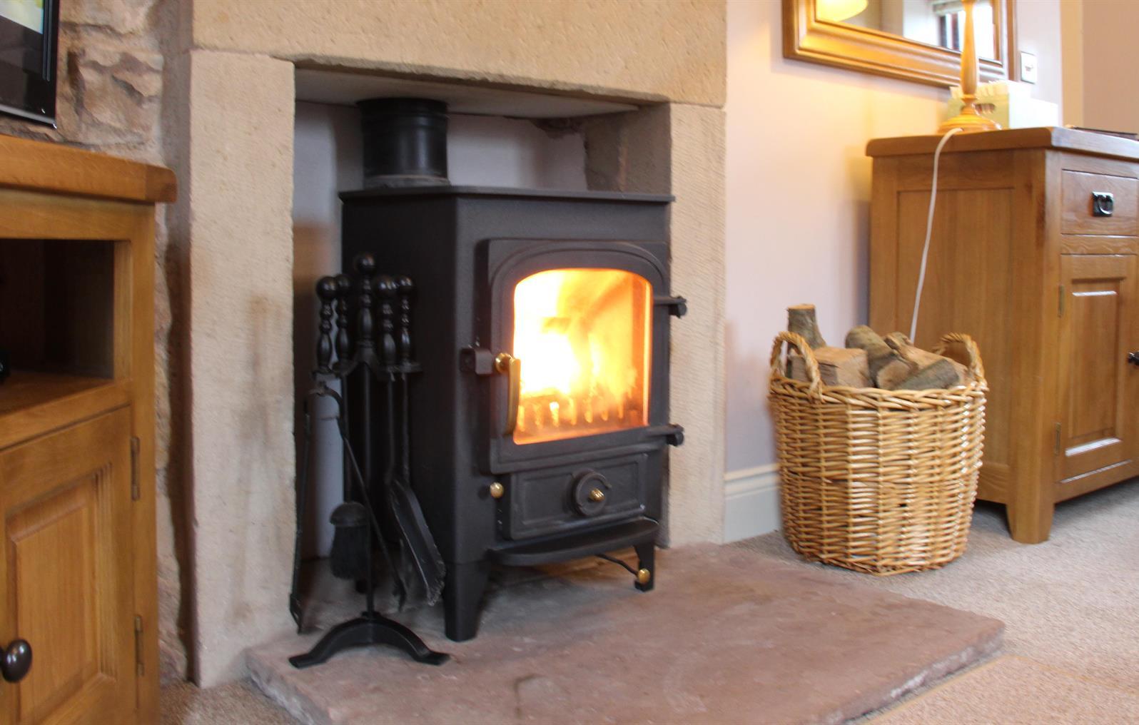 Oak Cottage Log Burner