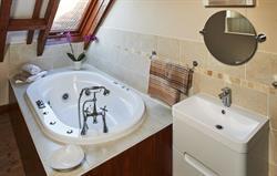 Attic Spa Bathroom