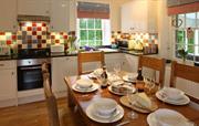 Kitchen At Railway Cottage