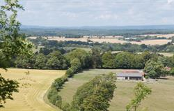 View of the Barns from the Downs