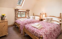 Stables Cottage twin bedroom
