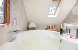 Dovecote hydrotherapy bath tub and