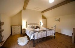 Comfy superking bed at Mill Cottage