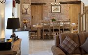 The Stables dining area