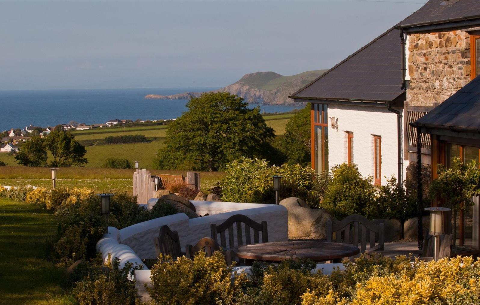 View across Cardigan Bay