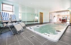 Retreat swimspa pool room