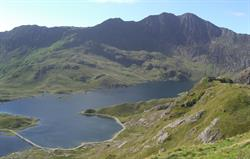 View from Mt Snowdon's pyg track