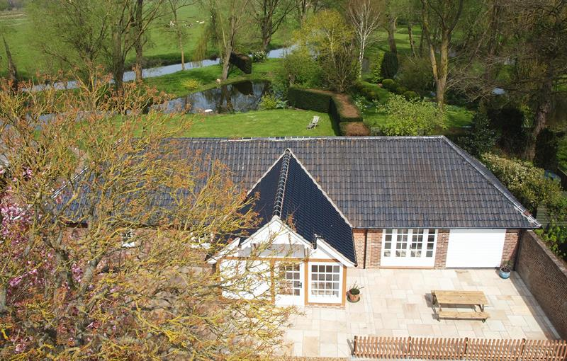 North Meadow Cottage aerial