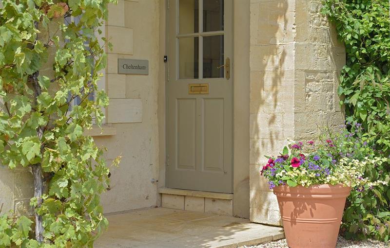 Cheltenham Entrance