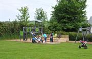 Great play area and space for ball