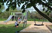 Lovely setting for play area