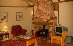 Blaize Barn Fireplace