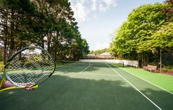 Broomhill Manor's New Tennis Court