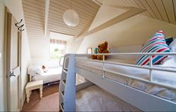 Chough Cottage bedroom sleeps 3