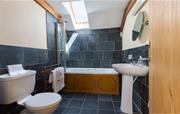 Family bathroom in The Cow Shed