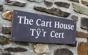 The Cart House sign