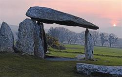 Pentre Ifan at dusk