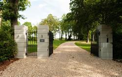 Through the gates....