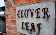 Clover Leaf sign