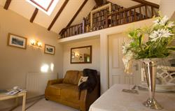Chestnut cottage sitting room
