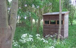 Woodland walk and wildlife hide