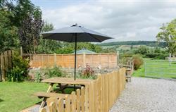 Hayloft Garden and seating