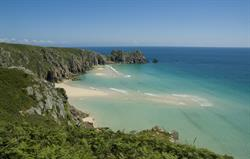 One of many beautiful local beaches