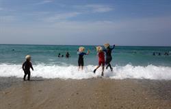 Sun, sea, sand, surf and fun