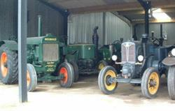 A selection of our vintage tractors