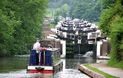 Warwick locks and afternoon tea