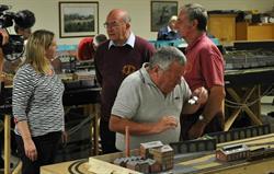 Model train club on site