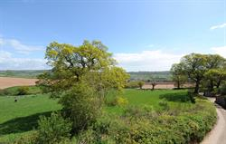 View from Oak Cottage