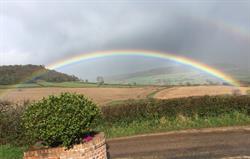 A Rainbow Outside