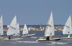 Sailing Bridlington Bay