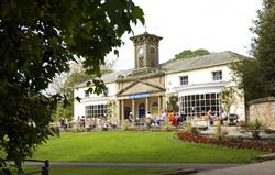 Sewerby Hall clock tower cafe