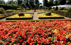 Sewerby Park gardens