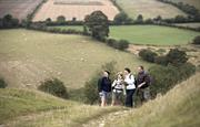 walking the Wolds