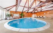 Clydey indoor heated pool area