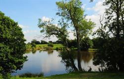Access to fishing lake