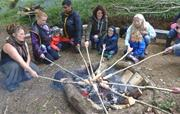 Woodland Adventures bread making