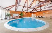 Clydey indoor heated pool area